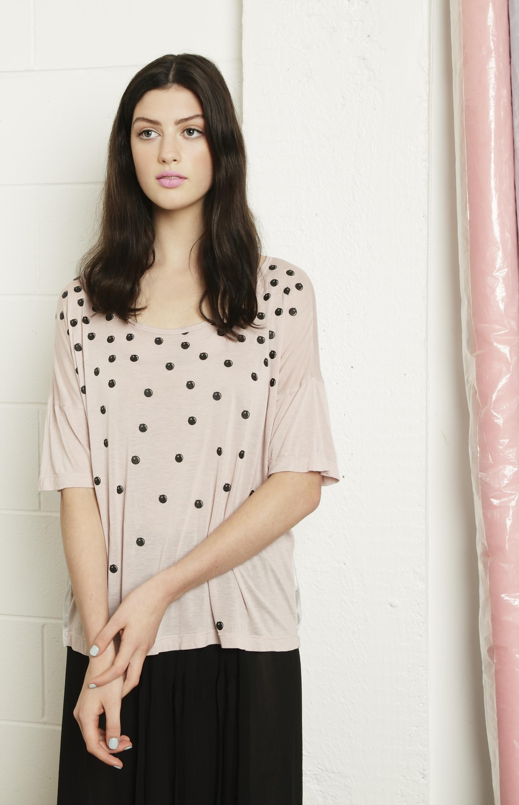 LAST SIZE / Fall Top 'Pink' - Was $220 Now $40