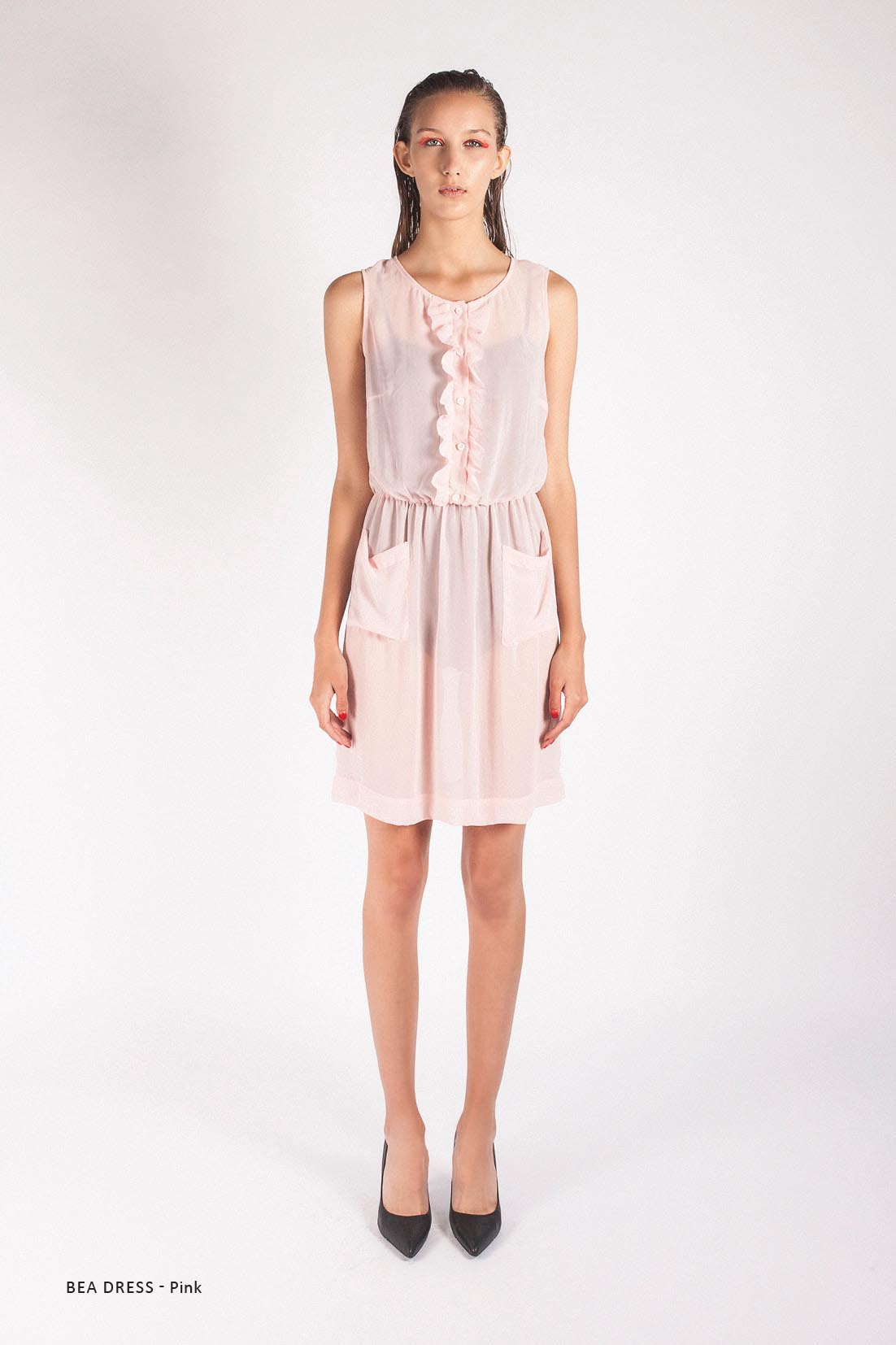 LAST SIZE / Bea Dress Pink - Was $290 Now $70